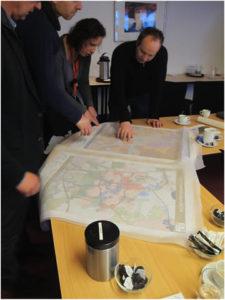 Bespreking tijdens Klimaatatelier Breda