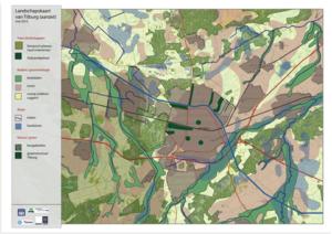 Landschapskaart klimaatatelier Tilburg