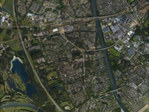 sectorale planning stadsplattegrond