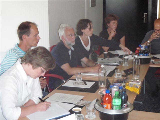 deelnemers aan een overleg