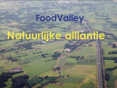 Voorkant rapport over de FoodValley-Natuurlijke Alliantie