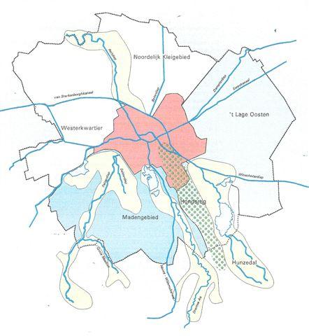 kaart van provincie Groningen