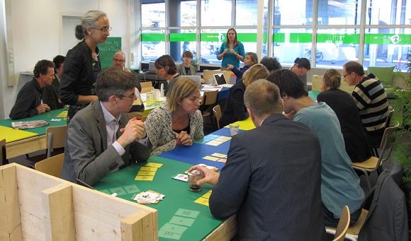 foto van de impressie van de eerste workshop
