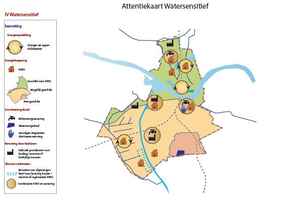 attentiekaart watersensitief Nijmegen
