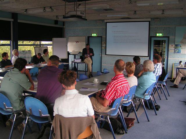 voordracht tijdens minisymposium ambitieladder