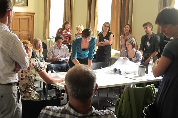 mensen tijdens een ontwerp sessie