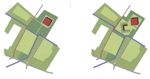 ontwerptekening modellen 1 en 2