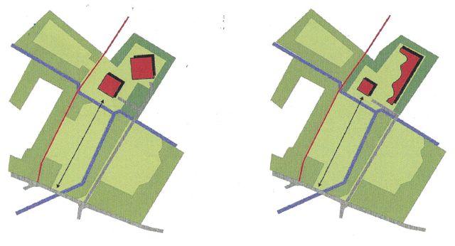 ontwerpschets model 3 en 4