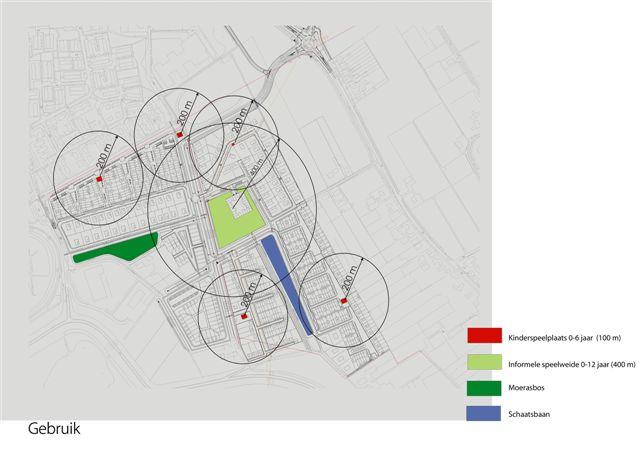 tekening van de analyse van het recreatief gebruik van de Essenpas