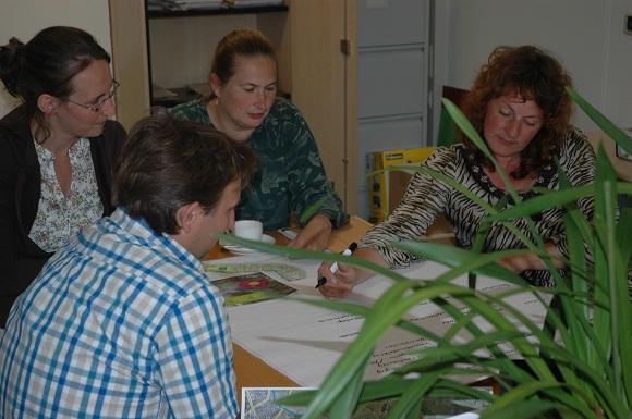 foto van een workshop