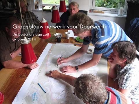 Voorkant rapport groenblauw netwerk voor Doorwerth
