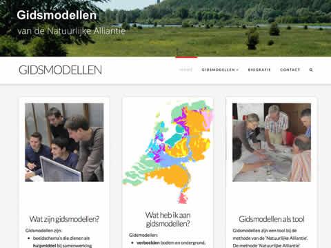 Homepage Gidsmodellen.nl