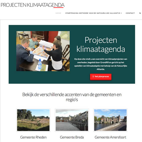 homepage projectenwebsite