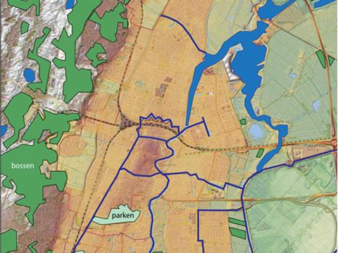 Groen-natuurkaart Haarlem