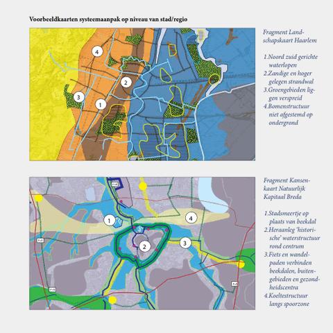 voorbeeldkaarten systeemaanpak stad/regio